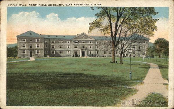 Gould Hall, Northfield Seminary East Northfield Massachusetts