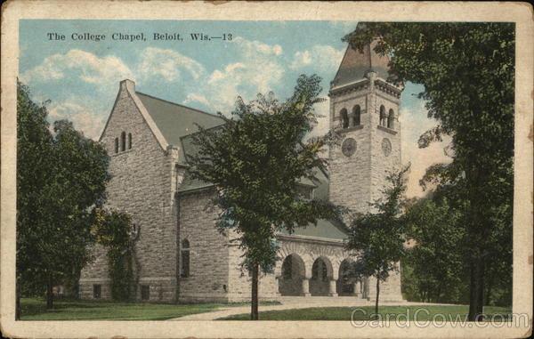 The College Chapel Beloit Wisconsin