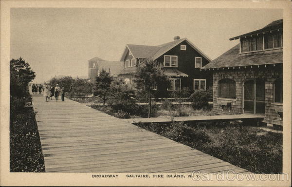 Broadway, Saltaire Fire Island New York