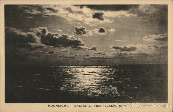 Moonlight - Saltaire Fire Island New York