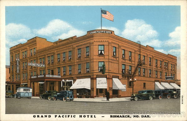 Grand Pacific Hotel Bismarck North Dakota