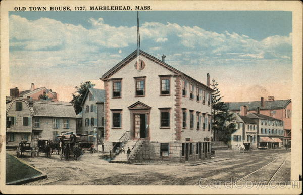 Old Town House, 1727 Marblehead Massachusetts