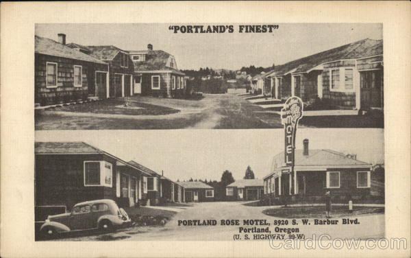 Portland Rose Motel Oregon