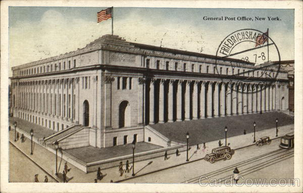 General Post Office New York, NY Postcard