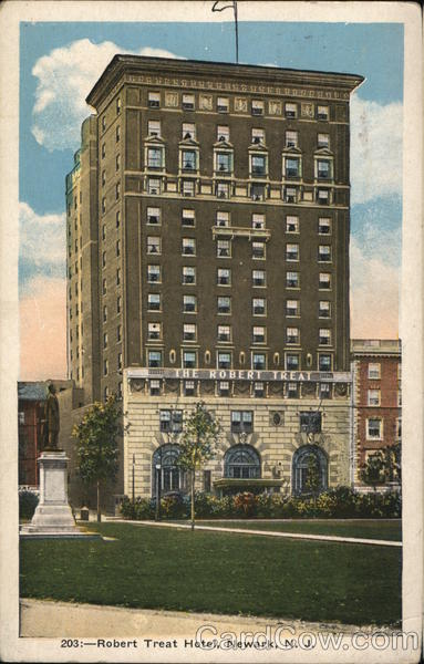 Robert Treat Hotel Newark New Jersey
