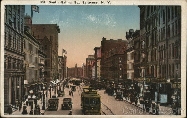 South Salina St. Syracuse New York