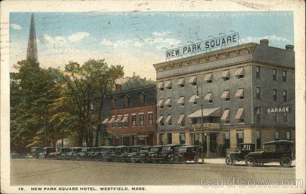 New Park Square Hotel Westfield Massachusetts