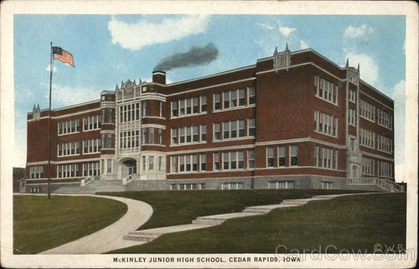 McKinley Junior High School Cedar Rapids Iowa