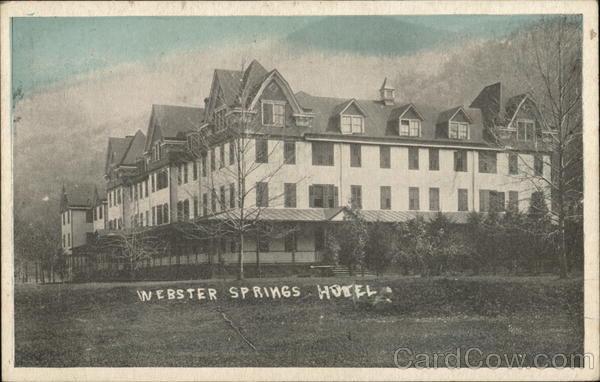 Webster Springs Hotel West Virginia