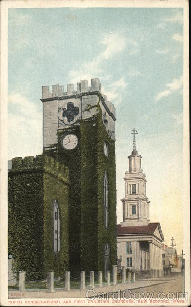 North Congregational and First Christian Churches New Bedford Massachusetts