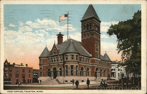 Post Office Taunton Massachusetts