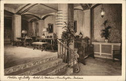 Portion of Lobby, Hotel La Fontaine