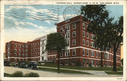 Couzens Hall, Nurses Home, U. of M.