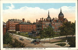 Johns Hopkins Hospital, North Broadway