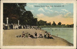 Bathing Beach, Bunn Park