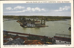 Bird's Eye View of Cristobal, Coaling Plant, Panama Canal