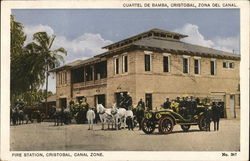 Fire Station,Cristobal, Canal Zone