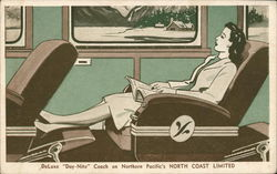 DeLuxe Day-Nite Coach on Northern Pacific's North Coast Limited