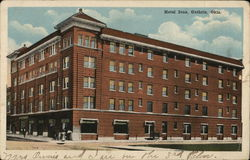 View of Hotel Ione Postcard