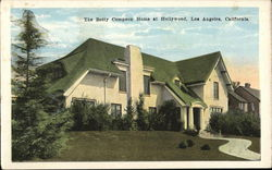 Betty Compson Home at Hollywood