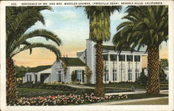 Residence of Mr. and Mrs. Oakman Postcard