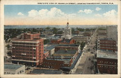 Bird's Eye View of Franklin Street, Looking Towards Bay