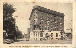 Famous Hotel Lafayette at Beautiful and Historic Marietta, Ohio