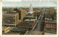 Bird's-Eye View of Franklin Street, Looking South