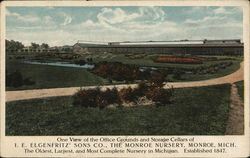 I. E. Elgenfritz Sons Co., The Monroe Nursery Postcard