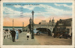 Boardwalk and Arch