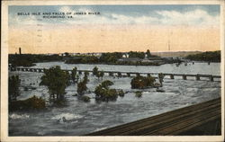 Belle Isle and Falls of James River