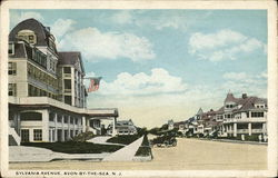 Avon by the sea new jersey vintage postcards images sciox Images