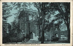 College of Wooster - Memorial Chapel