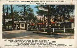 Palmetto Tourist Camp - Entrance