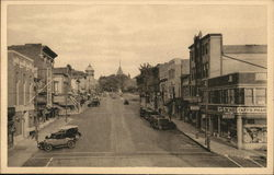 South Orange Avenue Looking East Postcard