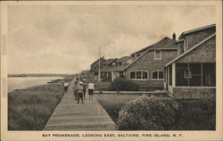 Bay Promenade, Looking East Postcard