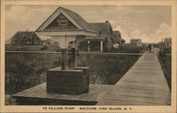 Ye Village Pump, Saltaire Postcard