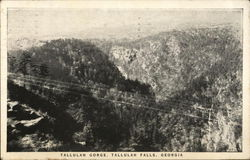 View of Tallulah Gorge