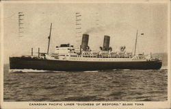 "Canadian Pacific Liner ""Duchess of Bedford"""