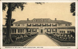 Residence of William E. Cross