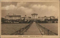 View of Hotel Ormond Postcard