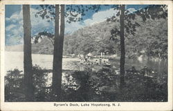 View of Byram's Dock