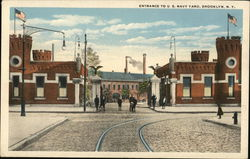 Entrance to U.S. Navy Yard