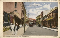 Central Avenue, Looking West, Panama City