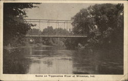 Scene on Tippecanoe River
