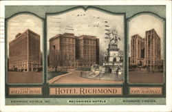 Richmond Hotels, Inc. Recognized Hotels
