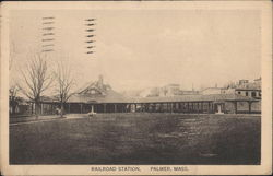 View of Railroad Station