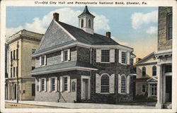 Old City Hall and Pennsylvania National Bank