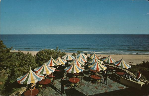 The Riviera Patio, Gurney's Inn, Long Island Montauk New York