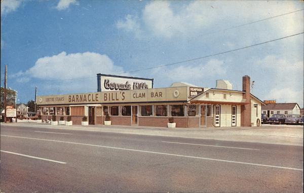 Barnacle Bills Lindenhurst NY Postcard